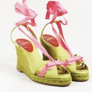 Christian Louboutin Isabelle Espadrille Wedges